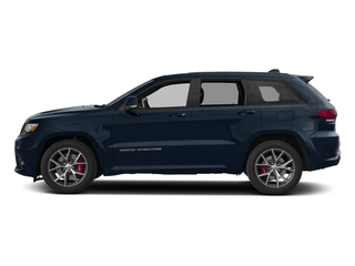 True Blue Pearlcoat 2017 Jeep Grand Cherokee Pictures Grand Cherokee SRT 4x4 photos side view
