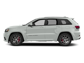 Bright White Clearcoat 2017 Jeep Grand Cherokee Pictures Grand Cherokee SRT 4x4 photos side view