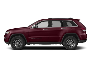 Velvet Red Pearlcoat 2017 Jeep Grand Cherokee Pictures Grand Cherokee Utility 4D Limited 4WD T-Dsl photos side view