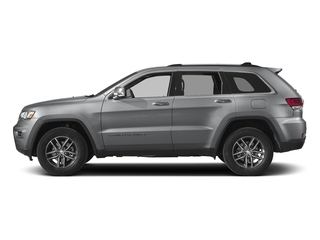 Billet Silver Metallic Clearcoat 2017 Jeep Grand Cherokee Pictures Grand Cherokee Limited 75th Anniversary Edition 4x2 *Ltd Avail* photos side view