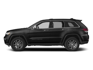 Diamond Black Crystal Pearlcoat 2017 Jeep Grand Cherokee Pictures Grand Cherokee Utility 4D Limited 4WD T-Dsl photos side view