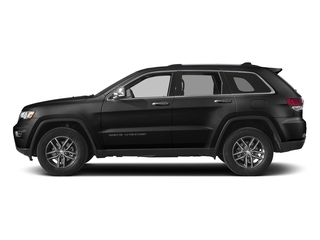 Diamond Black Crystal Pearlcoat 2017 Jeep Grand Cherokee Pictures Grand Cherokee Utility 4D Limited 2WD T-Dsl photos side view