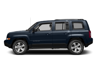 True Blue Pearlcoat 2017 Jeep Patriot Pictures Patriot Utility 4D Sport 2WD I4 photos side view