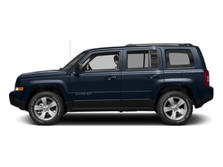 True Blue Pearlcoat 2017 Jeep Patriot Pictures Patriot Utility 4D Sport 4WD I4 photos side view