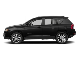 Black Clearcoat 2017 Jeep Compass Pictures Compass Latitude 4x4 *Ltd Avail* photos side view