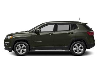 Olive Green Pearlcoat 2017 Jeep Compass Pictures Compass Latitude FWD photos side view