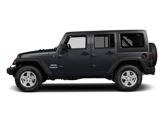 Rhino Clearcoat 2017 Jeep Wrangler Unlimited Pictures Wrangler Unlimited Utility 4D Unlimited Sport 4WD V6 photos side view