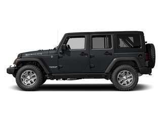 Granite Crystal Metallic Clearcoat 2017 Jeep Wrangler Unlimited Pictures Wrangler Unlimited Rubicon Recon 4x4 photos side view