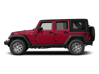 Firecracker Red Clearcoat 2017 Jeep Wrangler Unlimited Pictures Wrangler Unlimited Rubicon Recon 4x4 photos side view