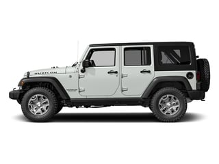 Bright White Clearcoat 2017 Jeep Wrangler Unlimited Pictures Wrangler Unlimited Rubicon Recon 4x4 photos side view
