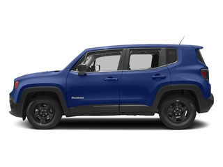 Jetset Blue 2017 Jeep Renegade Pictures Renegade Sport 4x4 photos side view