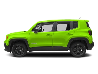 Hypergreen Clearcoat 2017 Jeep Renegade Pictures Renegade Sport 4x4 photos side view