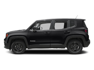 Black 2017 Jeep Renegade Pictures Renegade Sport 4x4 photos side view