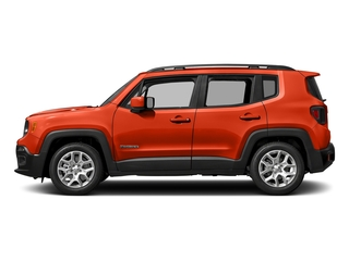 Omaha Orange 2017 Jeep Renegade Pictures Renegade Altitude FWD photos side view