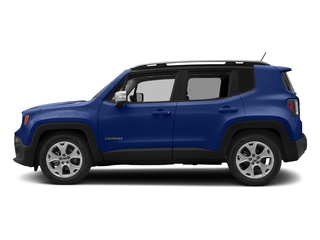 Jetset Blue 2017 Jeep Renegade Pictures Renegade Utility 4D Limited 2WD photos side view