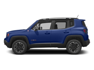 Jetset Blue 2017 Jeep Renegade Pictures Renegade Utility 4D Trailhawk AWD photos side view