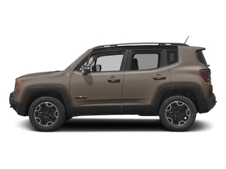 Mojave Sand 2017 Jeep Renegade Pictures Renegade Utility 4D Deserthawk 4WD photos side view