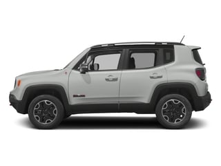 Alpine White 2017 Jeep Renegade Pictures Renegade Utility 4D Trailhawk AWD photos side view