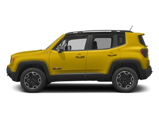 Solar Yellow 2017 Jeep Renegade Pictures Renegade Utility 4D Trailhawk AWD photos side view