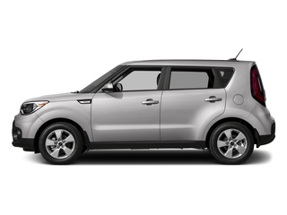 Bright Silver 2017 Kia Soul Pictures Soul Wagon 4D I4 photos side view