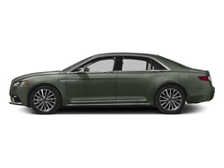 Jade Green Metallic 2017 Lincoln Continental Pictures Continental Sedan 4D Livery photos side view