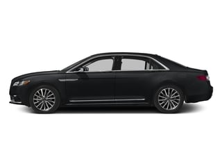 Diamond Black 2017 Lincoln Continental Pictures Continental Sedan 4D Black Label AWD V6 Turbo photos side view