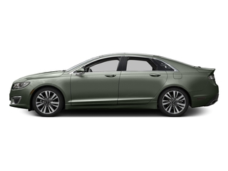 Jade Green Metallic 2017 Lincoln MKZ Pictures MKZ Sedan 4D Select AWD I4 photos side view