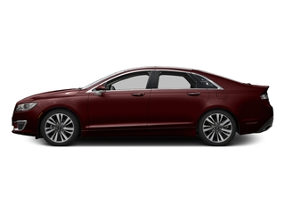 Burgundy Velvet Metallic Tinted Clearcoat 2017 Lincoln MKZ Pictures MKZ Sedan 4D Select AWD I4 photos side view