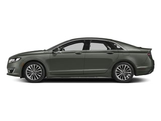 Jade Green Metallic 2017 Lincoln MKZ Pictures MKZ Sedan 4D Select I4 Hybrid photos side view