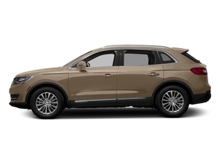 Palladium White Gold Metallic 2017 Lincoln MKX Pictures MKX Util 4D Premiere EcoBoost AWD V6 photos side view