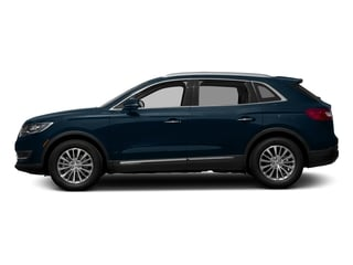 Midnight Sapphire Blue Metallic 2017 Lincoln MKX Pictures MKX Util 4D Premiere EcoBoost AWD V6 photos side view