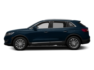 Midnight Sapphire Blue Metallic 2017 Lincoln MKX Pictures MKX Util 4D Reserve EcoBoost 2WD V6 photos side view