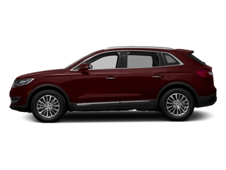 Burgundy Velvet Metallic Tinted Clearcoat 2017 Lincoln MKX Pictures MKX Util 4D Reserve EcoBoost 2WD V6 photos side view