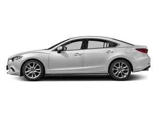 Snowflake White Pearl Mica 2017 Mazda Mazda6 Pictures Mazda6 Sedan 4D Touring I4 photos side view