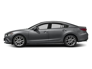Machine Gray Metallic 2017 Mazda Mazda6 Pictures Mazda6 Sedan 4D Touring I4 photos side view