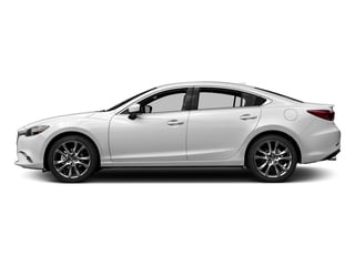 Snowflake White Pearl Mica 2017 Mazda Mazda6 Pictures Mazda6 Sedan 4D GT Premium I4 photos side view