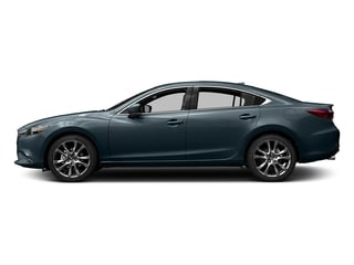 Blue Reflex Mica 2017 Mazda Mazda6 Pictures Mazda6 Sedan 4D GT Premium I4 photos side view