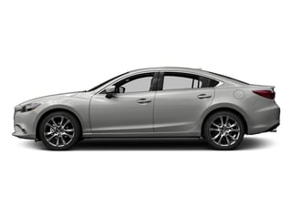 Sonic Silver Metallic 2017 Mazda Mazda6 Pictures Mazda6 Sedan 4D GT Premium I4 photos side view