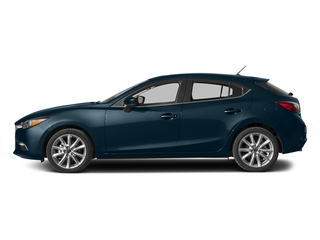 Deep Crystal Blue Mica 2017 Mazda Mazda3 5-Door Pictures Mazda3 5-Door Wagon 5D Touring 2.5L I4 photos side view