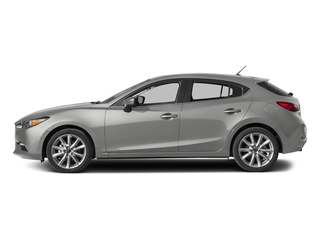 Sonic Silver Metallic 2017 Mazda Mazda3 5-Door Pictures Mazda3 5-Door Wagon 5D Touring 2.5L I4 photos side view