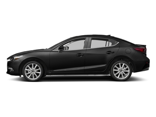 Jet Black Mica 2017 Mazda Mazda3 4-Door Pictures Mazda3 4-Door Sedan 4D Grand Touring photos side view