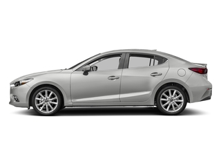 Sonic Silver Metallic 2017 Mazda Mazda3 4-Door Pictures Mazda3 4-Door Sedan 4D Grand Touring photos side view