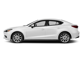 Snowflake White Pearl Mica 2017 Mazda Mazda3 4-Door Pictures Mazda3 4-Door Touring Manual photos side view