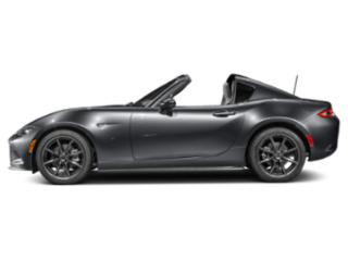 Machine Gray 2017 Mazda MX-5 Miata RF Pictures MX-5 Miata RF Conv Launch Retractable Fastback I4 photos side view