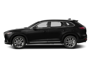 Jet Black Mica 2017 Mazda CX-9 Pictures CX-9 Grand Touring AWD photos side view