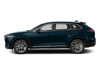 Deep Crystal Blue Mica 2017 Mazda CX-9 Pictures CX-9 Grand Touring AWD photos side view