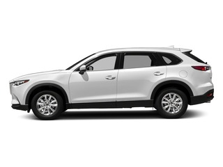 Snowflake White Pearl Mica 2017 Mazda CX-9 Pictures CX-9 Touring AWD photos side view