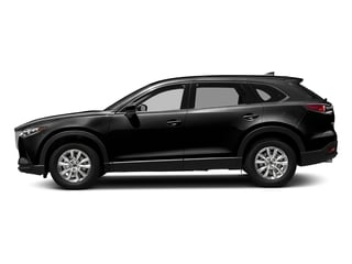 Jet Black Mica 2017 Mazda CX-9 Pictures CX-9 Touring AWD photos side view