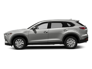 Sonic Silver Metallic 2017 Mazda CX-9 Pictures CX-9 Touring AWD photos side view