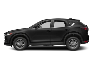 Jet Black Mica 2017 Mazda CX-5 Pictures CX-5 Utility 4D Sport 2WD I4 photos side view